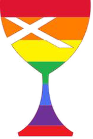 A Disciples of Christ rainbow chalice